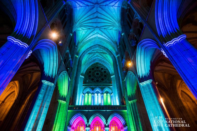 Washington Cathedral Gets Colorful with Seeing Deeper