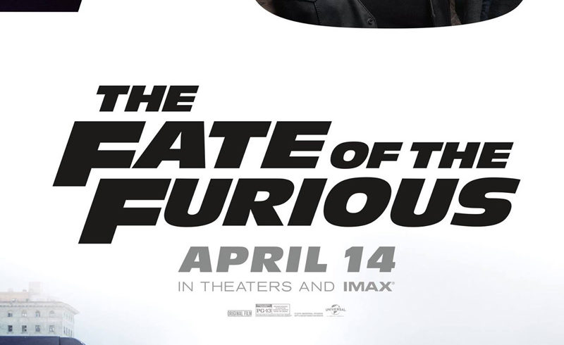 GIVEAWAY: THE FATE OF THE FURIOUS Screening – April 11