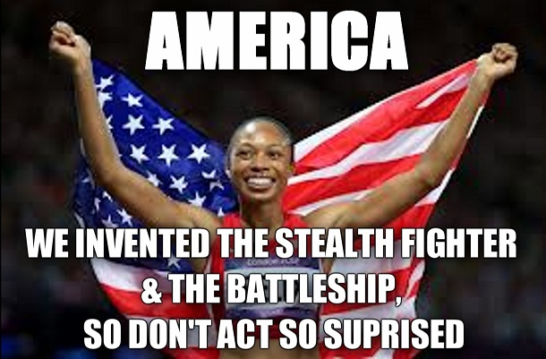 America - The Latest Olympic MEMES